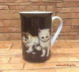 Bögre MACY macska (3) cicás ajándék (10 cm)
