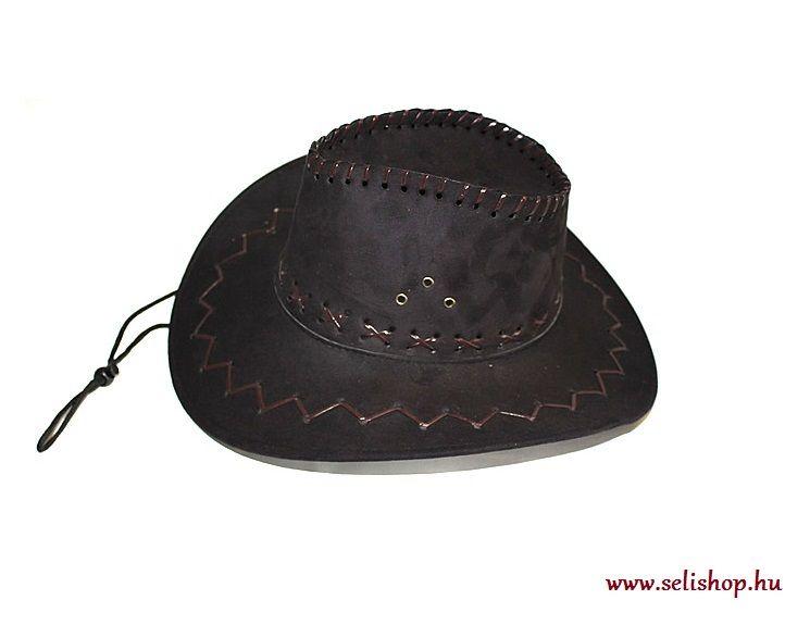 Jelmezbál COWBOY kalap velúr bc8a5f7986