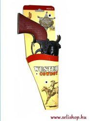 Jelmezbál SHERIFF PISZTOLY + jelvény, szilveszter