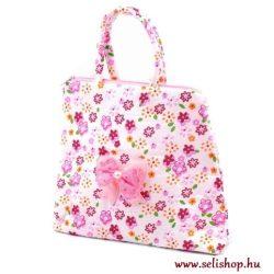 Gyermek textiltáska DIANA rózsaszín virág