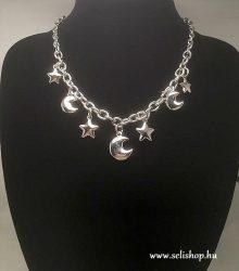Nyaklánc MOONSTAR (1) csillag, hold