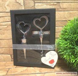 Bornyitó készlet INSIGNIA (1) szív, 2 részes