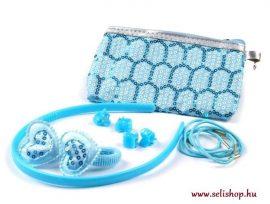 Gyermek készlet DORINA kék türkiz  pénztárca (5 részes)