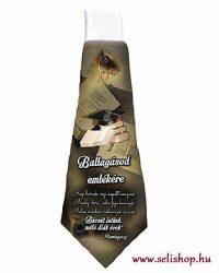 Nyakkendő BALLAGÁS idézettel