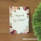 Kísérő kártya ANYUNAK SZERETETTEL
