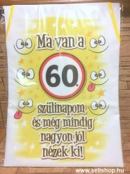 Kötény 60-as SZÜLETÉSNAP (2) vicces ajándék