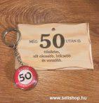 Ajándék szett 50. SZÜLETÉSNAP (1) vicces évszámos ajándék