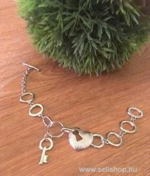 Karkötő LORAINE (1) szív, kulcs, szerelem