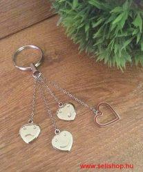 Kulcstartó STACY szív hangulat szerelem