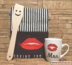 Ajándékcsomag MRS. - LEGJOBB NŐ (1) vicces női ajándék, 3 részes
