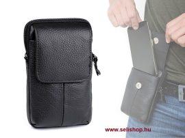 Férfi táska HUMPHREY (1) bőr, fekete