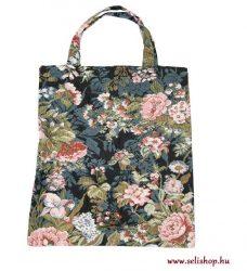 Táska RETRO - RÓZSA (1) virágos nosztalgia ajándék
