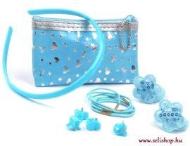 Gyermek készlet DORY kék türkiz  pénztárca