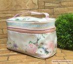 Kozmetikai táska RÓZSA füllel, 22 cm, rózsaszín