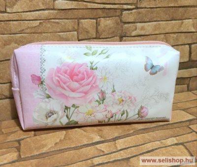 f0c996b047f8 Kozmetikai táska RÓZSA 18 cm, rózsaszín - SeLiShop Ajándék Webáruház