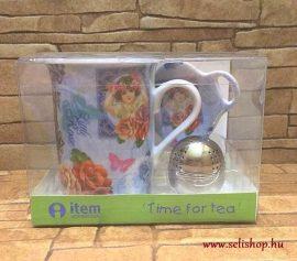 Bögre szett THELMA 3 részes, teás nosztalgia ajándék
