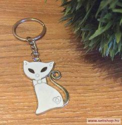Kulcstartó MACSKA - SZERÉNKE (1) cicás ajándék