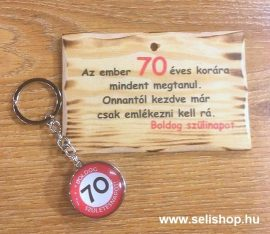 Ajándék szett 70. SZÜLETÉSNAP (1) vicces évszámos ajándék
