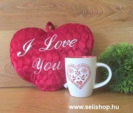 Ajándékcsomag SZERELEM (2) szívecskés női ajándék