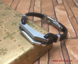 Nemesacél karkötő CARLO (4)