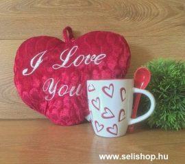 Ajándékcsomag SZERELEM (1) szívecskés női ajándék