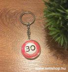 Kulcstartó 30. SZÜLETÉSNAP (1) évszámos ajándék