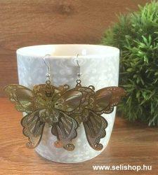 Fülbevaló MARGERY arany színű pillangó