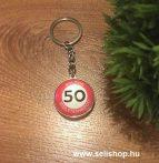 Kulcstartó 50. SZÜLETÉSNAP (1) évszámos ajándék