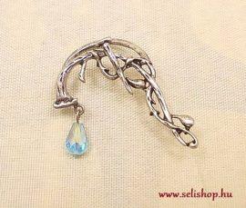 Fülgyűrű AMARIL kék türkiz antikolt