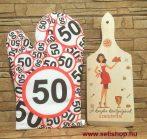 Ajándékcsomag KONYHA KIRÁLYNŐJE - 50. SZÜLETÉSNAP (1) vicces női ajándék