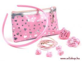 Gyermek készlet DORY rózsaszín pénztárca