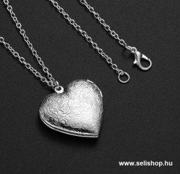 Nyaklánc LOVE - SZERELEM kinyitható szív medállal