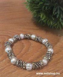 Karkötő LEONA (3) fehér gyöngy
