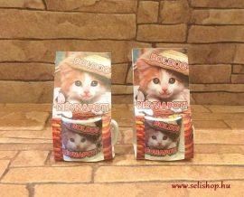 MINI bögre BOLDOG NÉVNAPOT macskás 3 cm
